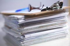 Books folder file and stethoscope isolated on Royalty Free Stock Photo