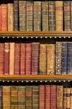 books gammala arkivlott Arkivbild