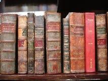 books gammalt royaltyfri fotografi