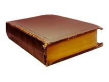 books gammalt bakgrund isolerad white Arkivbilder