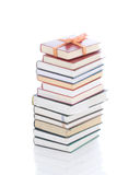 Books in gift packing isolated on a white Royalty Free Stock Images