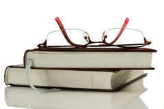 Books and glasses. Stock Photography