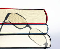 Books and glasses Royalty Free Stock Photos