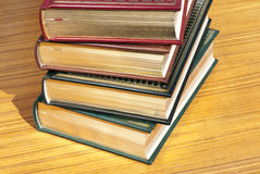 Books with gold pages Stock Images