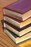 Books with gold pages Royalty Free Stock Images