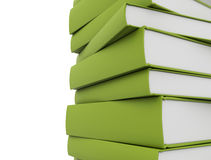 Books green Stock Images