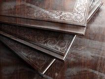 books grunge Royaltyfria Foton