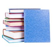 Books heap isolated Royalty Free Stock Photos