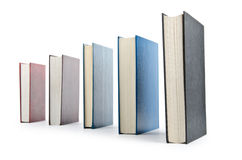 Books in high stack Royalty Free Stock Photo