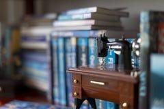 Books on a home shelf Stock Photography