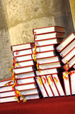 books hymnalsbönen Royaltyfri Foto