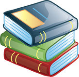 Books icon or symbol Stock Photos