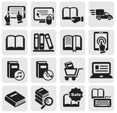 Books icons Stock Images
