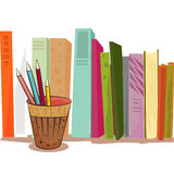 Books illustration Stock Photography