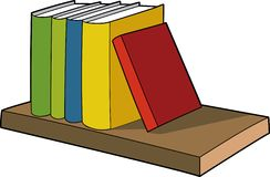 Books Illustration Royalty Free Stock Images