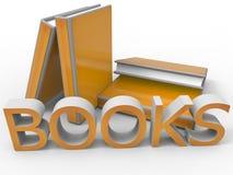 Books illustration Stock Photo