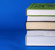 Books. Image of books stacked on top of each other Stock Photo