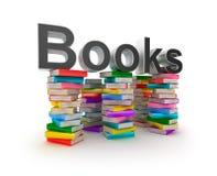 Books In Piles Stock Photos