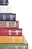 Books In Row Royalty Free Stock Images