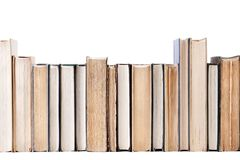 Books (inside clipping path) Royalty Free Stock Photography