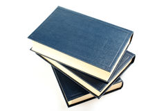 Books isolated. Royalty Free Stock Photography