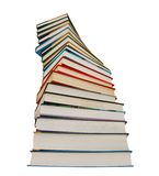 Books isolated Royalty Free Stock Photo