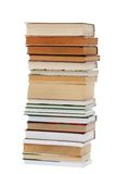 Books isolated Royalty Free Stock Image