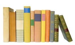 books isolated stock photo