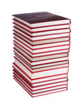 Books isolated on the white background Royalty Free Stock Images