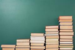 books isolerat gammalt för begrepp utbildning Royaltyfri Foto