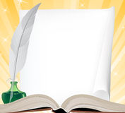 books isolerat gammalt för begrepp utbildning Royaltyfri Fotografi