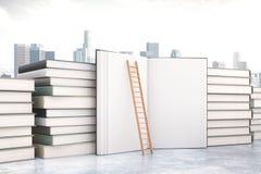 books isolerat gammalt för begrepp utbildning Royaltyfria Bilder