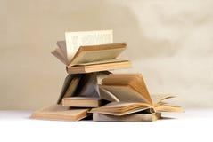 books kaos Arkivbilder