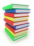 books kolonnen Royaltyfri Foto