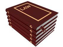 Books of Law Stock Photos