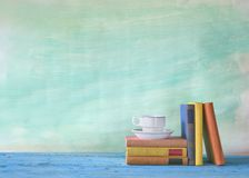 Books, learning concept Royalty Free Stock Photo