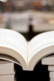 Books in Library. ,the background is ambiguous in Stock Photo