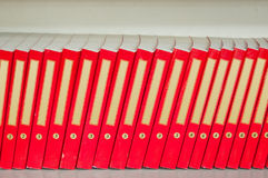 Books in Library Stock Photography