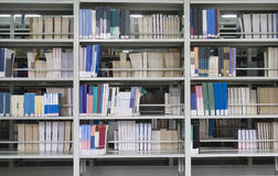 Books in library Stock Image