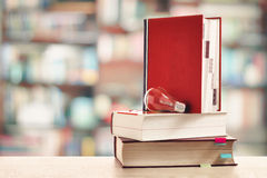Books in library Royalty Free Stock Photo