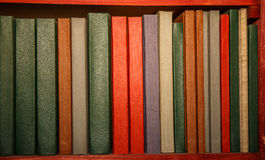 Books in the library. Royalty Free Stock Image