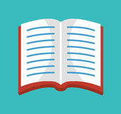 Books library isolated icon Royalty Free Stock Photo