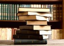 Books in the Library. Old books in the Library Stock Image