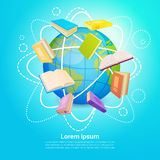 Books Library Read School Education Global Knowledge Concept Stock Image