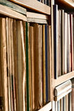 Books in the library Royalty Free Stock Photography