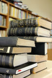 Books in library Royalty Free Stock Photography