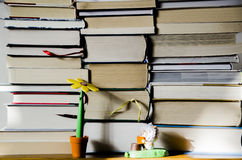The Books Stock Photo