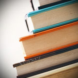 Books in the line Royalty Free Stock Images