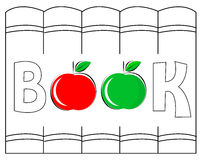 Books logo Stock Photos