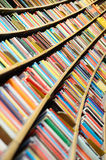 Books, lots of books in library Royalty Free Stock Image